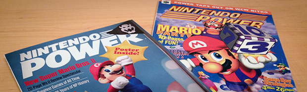 The final issue of Nintendo Power alongside my very first issue (Vol. , January 1999).