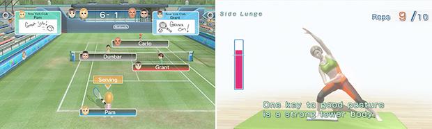 Two Wii juggernauts in HD.