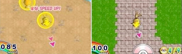 All of Pokemon Dash's gameplay revolved around swiping Pikachu on the DS touch screen.