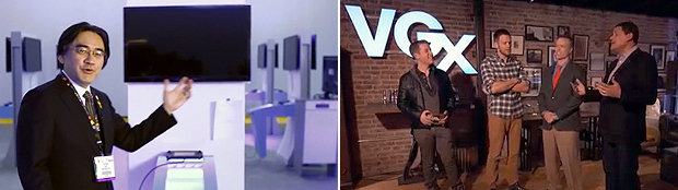 Nintendo sees the most success when announcements correspond with big event such as E3 (left) or VGX (right).