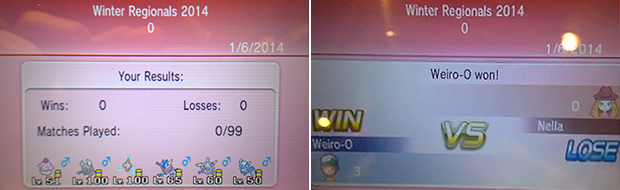 One of the biggest surprises was the robust tournament interface within Pokemon X & Y.