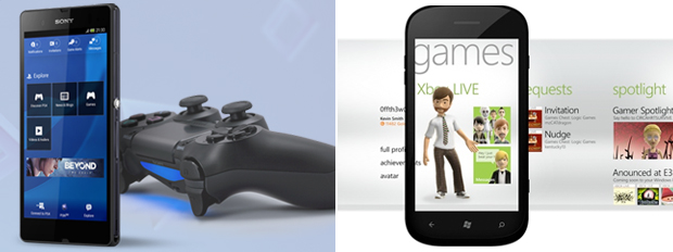 Functional apps for PlayStation (left) and Xbox (right) already exist. Next up, Nintendo Network.