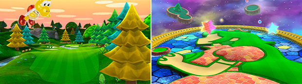 World Tour's DLC will range from the relatively normal (left) to the celestial (right).